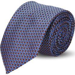 Krawaty męskie: krawat platinum bordo classic 233