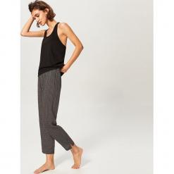 Dwuczęściowa piżama - Czarny. Czarne piżamy damskie Reserved, l. Za 99,99 zł.