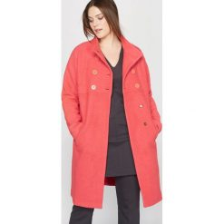 Płaszcze damskie pastelowe: Płaszcz, 40% wełna
