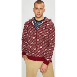 Adidas Originals - Bluza. Brązowe bluzy męskie rozpinane marki adidas Originals, z bawełny. W wyprzedaży za 299,90 zł.