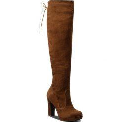 Muszkieterki TAMARIS - 1-25560-29 Terra 475. Szare buty zimowe damskie marki Tamaris, z materiału, na sznurówki. W wyprzedaży za 219,00 zł.