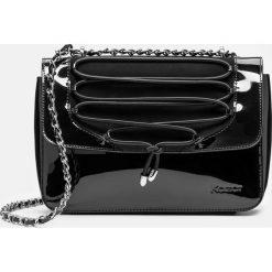 Czarna torba na ramię. Czarne torebki klasyczne damskie marki B'TWIN, z materiału. Za 699,00 zł.