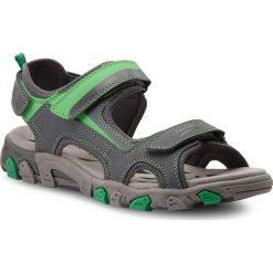 Sandały męskie skórzane: Sandały SUPERFIT – 2-00452-45 D Smoke Kombi