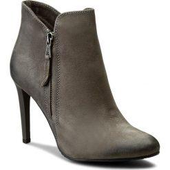 Botki CARINII - B3714 G65-000-PSK-A92. Szare buty zimowe damskie Carinii, z materiału. W wyprzedaży za 239,00 zł.