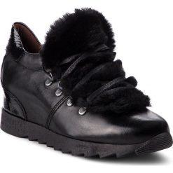 Sneakersy HISPANITAS - Sesame HI87380 Black. Czarne creepersy damskie Hispanitas, z materiału. Za 499,00 zł.
