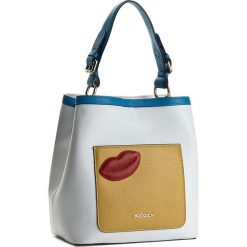 Torebka KAZAR - Victoria 29063-01-01 Biały Kolorowy. Białe torebki klasyczne damskie Kazar, w kolorowe wzory, ze skóry, z tłoczeniem. W wyprzedaży za 459,00 zł.