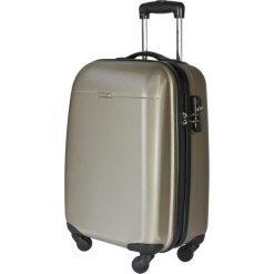 Mała Twarda Walizka PUCCINI - PC005C 6 Brązowy Złoty. Brązowe walizki marki Puccini, z tworzywa sztucznego, małe. W wyprzedaży za 209,00 zł.