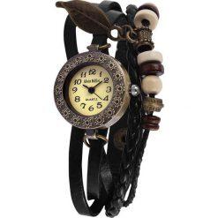 Alain Miller Native Vibe Zegarek na rękę czarny. Czarne, analogowe zegarki damskie Alain Miller, metalowe. Za 62,90 zł.