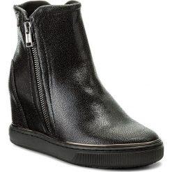 Botki GUESS - Fulvia FLFUL4 LEL10 BLACK. Niebieskie buty zimowe damskie marki Guess, z materiału. W wyprzedaży za 369,00 zł.