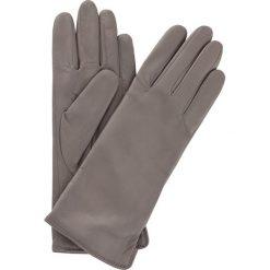 Rękawiczki damskie. Szare rękawiczki damskie Ochnik, z kaszmiru. Za 229,90 zł.