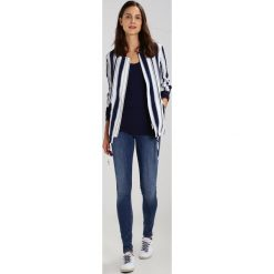 GStar LYNN MID SUPER SKINNY  Jeans Skinny Fit medium aged. Białe jeansy damskie relaxed fit marki G-Star, z nadrukiem. Za 469,00 zł.