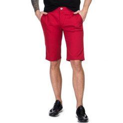 Szorty ACHILLE 16-07T. Czerwone szorty męskie Giacomo Conti, na lato, z bawełny. Za 199,00 zł.