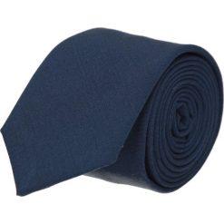 Krawat platinum granatowy classic 214. Niebieskie krawaty męskie Recman. Za 49,00 zł.