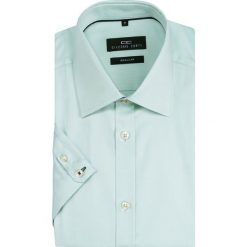 Koszula SIMONE KKZR000012. Szare koszule męskie na spinki marki S.Oliver, l, z bawełny, z włoskim kołnierzykiem, z długim rękawem. Za 169,00 zł.
