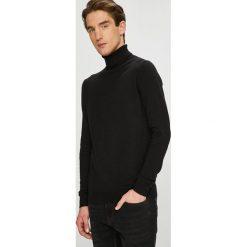 Premium by Jack&Jones - Sweter. Czarne golfy męskie Premium by Jack&Jones, l, z bawełny. Za 169,90 zł.