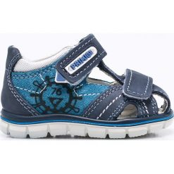 Primigi - Sandały dziecięce. Brązowe sandały chłopięce Primigi, z materiału. W wyprzedaży za 199,90 zł.