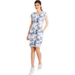Sukienki hiszpanki: Sukienka – 18-4872N BIAN