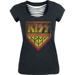 Kiss Army Koszulka damska czarny. Czarne bluzki na imprezę marki Kiss, l. Za 99,90 zł.