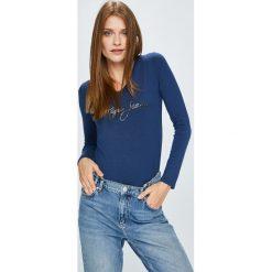 Pepe Jeans - Bluzka Mara. Szare bluzki z odkrytymi ramionami Pepe Jeans, l, z nadrukiem, z dzianiny, casualowe. Za 179,90 zł.