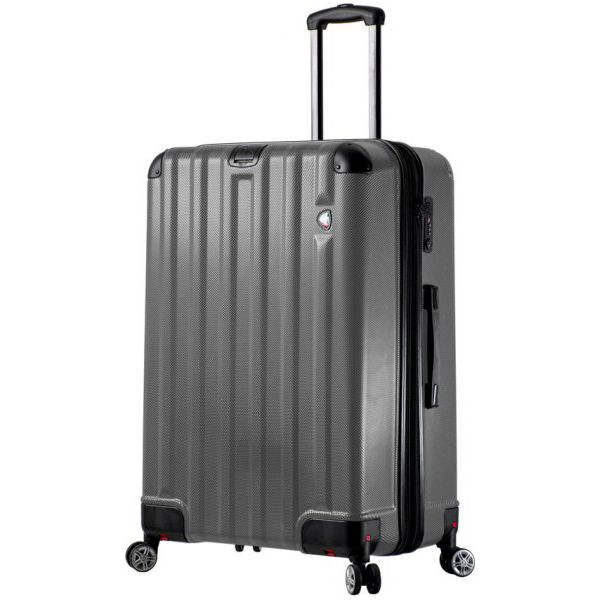 aa31ffc087dd8 Mia Toro Walizka m1300/3-L, Grey - Szare walizki Mia Toro, bez ...