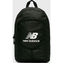 New Balance - Plecak. Czarne plecaki damskie marki New Balance, z poliesteru. Za 99,90 zł.