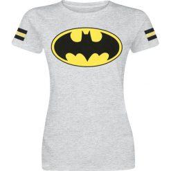 Bluzki asymetryczne: Batman Logo Koszulka damska odcienie jasnoszarego
