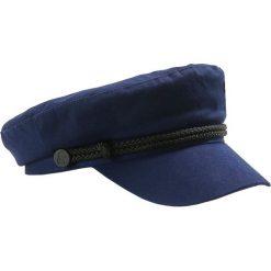 Czapki z daszkiem damskie: KARL LAGERFELD CAPTAIN PINS CAP Czapka z daszkiem navy