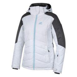 Hannah Damska Kurtka Nanett, Bright White/Gray Mel, 42. Białe kurtki damskie narciarskie Hannah. Za 599,00 zł.