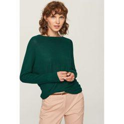 Swetry damskie: Sweter - Khaki