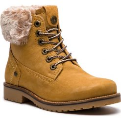 Trapery WRANGLER - Creek Alaska WL182502 Tan Yellow 24. Żółte buty zimowe damskie Wrangler, z materiału. W wyprzedaży za 309,00 zł.