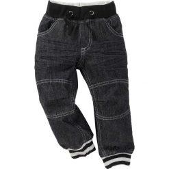 """Dżinsy bonprix czarny """"stone"""". Czarne spodnie chłopięce bonprix. Za 84,99 zł."""