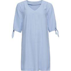 Sukienki: Sukienka bonprix perłowy niebieski