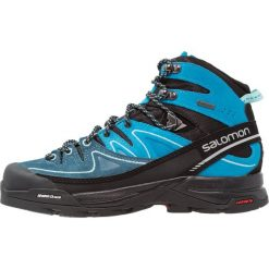 Buty trekkingowe damskie: Salomon X ALP GTX Buty trekkingowe black/hawaiian ocean/aruba blue