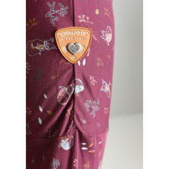 Bluzki asymetryczne: Ragwear Plus INES PLUS Bluzka z długim rękawem plum