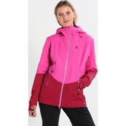 Kurtki sportowe damskie: Salomon GUARD Kurtka snowboardowa rose red