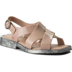 Rzymianki damskie: Sandały MELISSA – Melrose Ad 32238 Pink/Glitter Silver 90659
