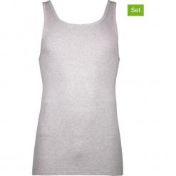 Podkoszulki (3 szt.) w kolorze szarym. Szare podkoszulki męskie marki Astratex, m, z nadrukiem, z bawełny. W wyprzedaży za 56,95 zł.
