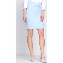 Spódniczki: Niebieska Spódnica Pay For