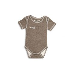 Body Brown Fleck 0-3m. Czarne body niemowlęce marki Calvin Klein Black Label. Za 36,67 zł.