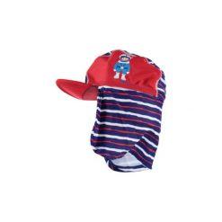 Playshoes  Czapka UV Nurek, czerwony. Czerwone czapeczki niemowlęce marki Playshoes, z elastanu. Za 35,00 zł.