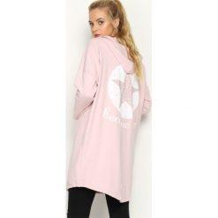 Bluzy damskie: Różowa Bluza Become One