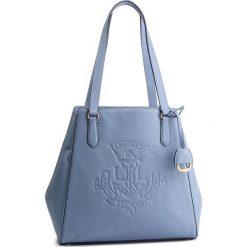 Torebka LAUREN RALPH LAUREN - Tote 431707716004 Blue. Niebieskie torebki klasyczne damskie Lauren Ralph Lauren, ze skóry. Za 1519,00 zł.