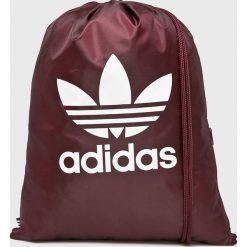 Adidas Originals - Plecak. Brązowe plecaki męskie marki adidas Originals, z bawełny. Za 59,90 zł.