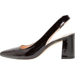 Unisa KINSEY_PA Czółenka black. Czarne buty ślubne damskie Unisa, z materiału. W wyprzedaży za 407,20 zł.