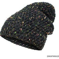 Czapki damskie: czapka dziana KRAFF BLACK handmade