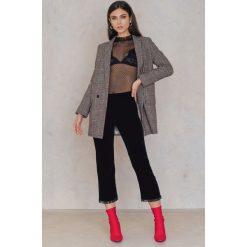 Spodnie z wysokim stanem: Hunkydory Spodnie Sheridan – Black