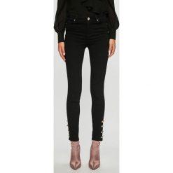 Morgan - Jeansy. Czarne rurki damskie marki Morgan, z bawełny. W wyprzedaży za 239,90 zł.