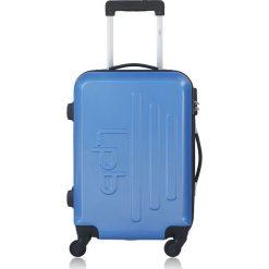 """Walizki: Walizka """"Adrienne"""" w kolorze niebieskim – 42 x 60 x 26 cm"""