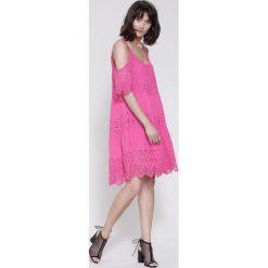 Sukienki hiszpanki: Fuksjowa Sukienka Since Yesterday