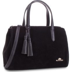 Torebka WITTCHEN - 87-4E-217-1 Czarny. Czarne torebki klasyczne damskie marki Wittchen, ze skóry. W wyprzedaży za 529,00 zł.